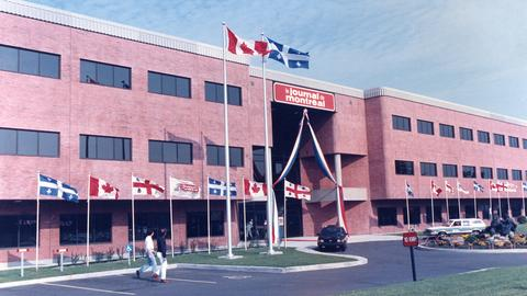 1985 – The new Journal de Montréal building opens at 4545 Frontenac.